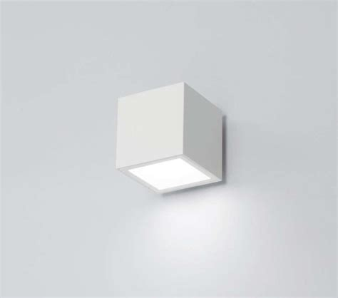 applique cubo illuminazione led per interni foto 11 30 design mag