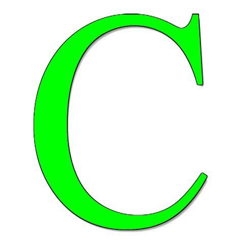 lettere c sta disegno di lettera c a colori