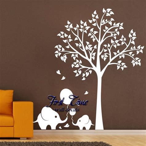 brown tree wall decal nursery 100 brown tree wall decal family tree wall decal
