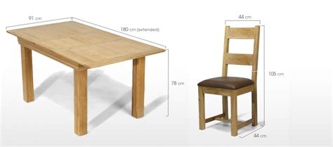 dining table dimensions cm images