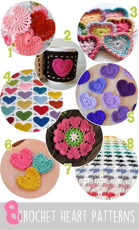 8 crochet patterns for valentine s day