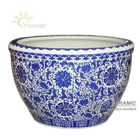 Antique Style Blue White Ornate Porcelain Garden Water Can Collectible 14cm 5 5 Quot Ebay China Antique Blue White Ceramic Porcelain Decorative Fish Pot Buy Ceramic Fish Pot Porcelain