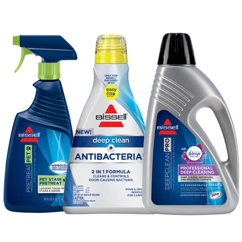 Oxy Carpet And Upholstery Cleaner Revolution Antibacterial Cleaning Solution Bundle Bissell 174