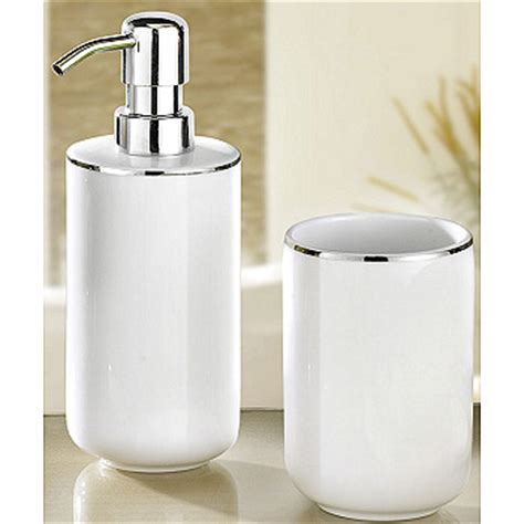 white and silver bathroom accessories luxury porcelain bath accessories white with silver accents