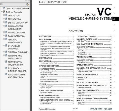 small engine service manuals 2011 nissan leaf instrument cluster nissan leaf model ze0 series 2011 factory service manual pdf repair manual cars repair manuals