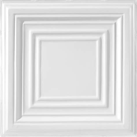 Ceiling Tiles At Lowes by Shop Armstrong Metallaire White Patterned 15 16 In Drop