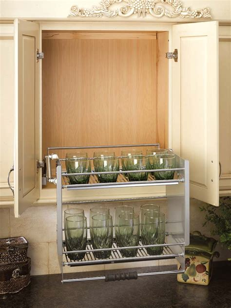 kitchen cabinet shelf 24 quot pull down shelf 5pd 24cr by rev a shelf
