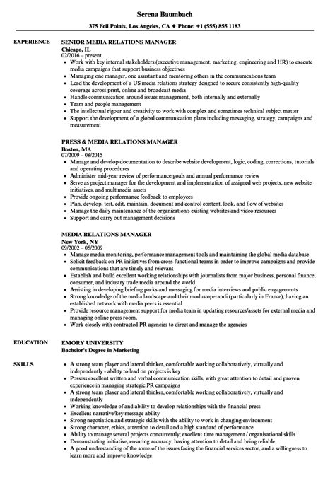 Community Relations Officer Sle Resume by Community Relations Manager Sle Resume Powerful Resume Objectives