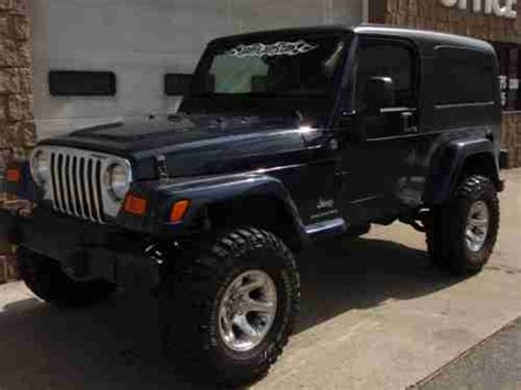 Jeep Unlimited 4 Inch Lift Sell Used 2006 Jeep Wrangler Unlimited 6 Cyl 6 Spd 4