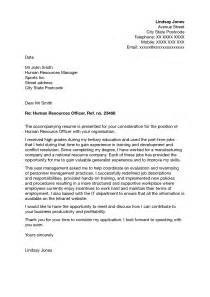 Cover Letter Address Human Resources Cover Letter Awesome Cover Letter To Human Resources