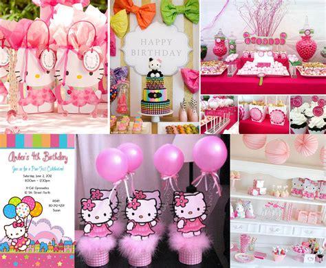 hello kitty themed birthday party ideas popular girls birthday themes