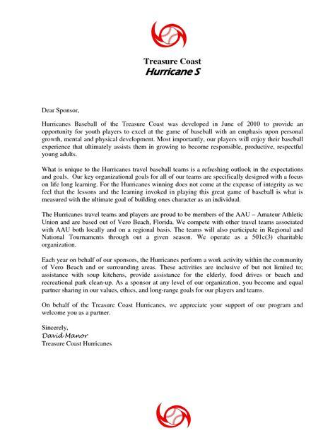 Sponsorship Letter For Youth Program 10 Best Images Of Sponsorship Letter Template Sle Sponsorship Letter Templates Youth