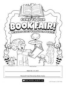 Scholastic Book Fair Coloring Pages sketch template