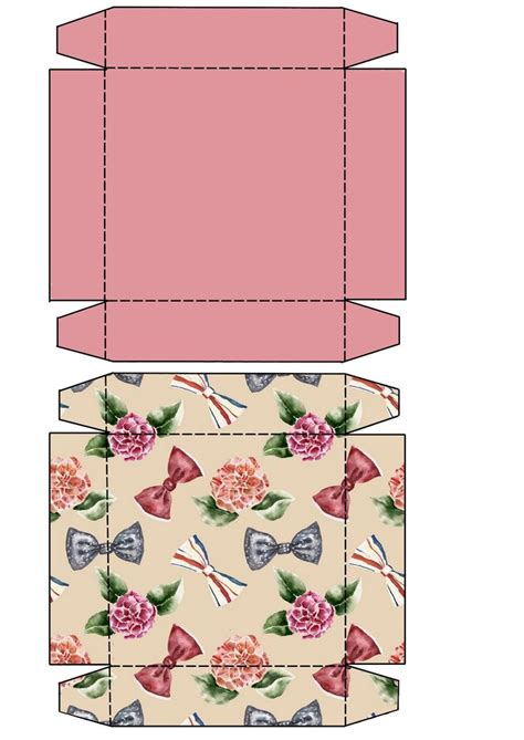 printable gift boxes 25 best ideas about gift box templates on