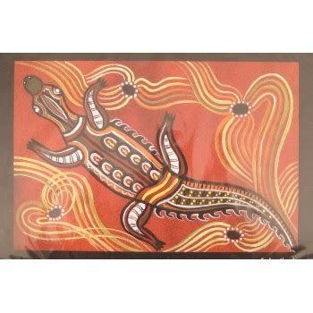 printable aboriginal bookmarks aboriginal art print crocodile