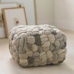 Soft Ottoman Soft Pouf Eclectic Floor Pillows And Poufs By Vivaterra