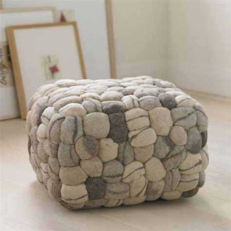 Soft Ottomans Soft Pouf Eclectic Floor Pillows And Poufs By Vivaterra