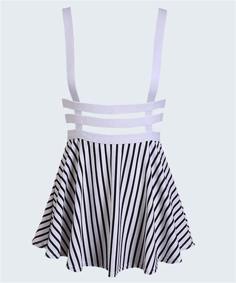 Mini Dress Office Dress Purple Import Korea 100 White Real Pict hollow mini skater straps suspender skirt retro high waist dress