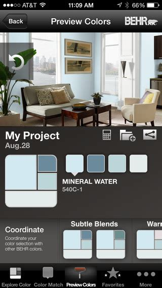 colorsmart by behr 174 mobile on the app store on itunes
