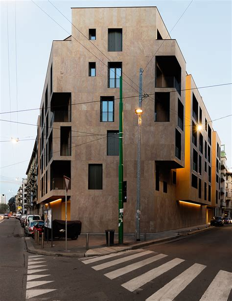 appartments in milan modourbano aligns p17 apartments with milan s urban fabric
