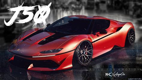 ferrari j50 2017 ferrari j50 limited add on hq 1 0 for gta 5