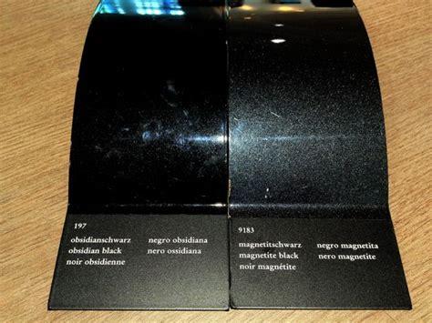 obsidian black color mercedes obsidian black vs magnetite black