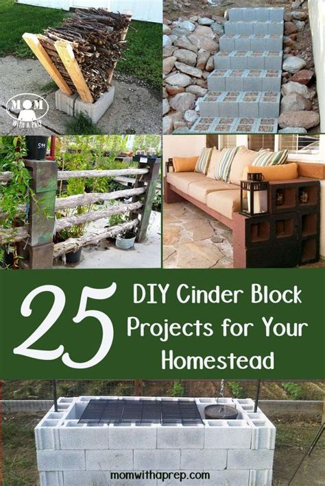diy projects with cinder blocks cinder blocks projects and diy and crafts on