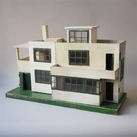 1930s dolls house ultra modern dolls house 1930s at 1stdibs
