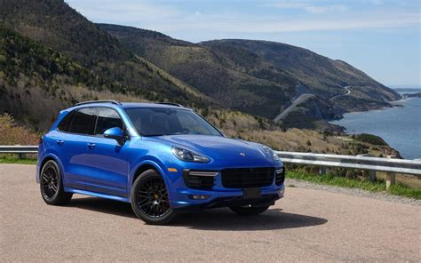 gts porsche cayenne porsche cayenne gts and macan turbo on the cabot trail