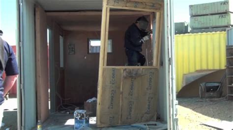 Barn Doors For Homes Interior shipping container office conversion youtube