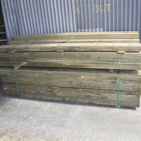 Treated Pine Sleepers 200 X 75 by Pine Sleepers 200 X 75 X 2 4 Brisbane Landscapes