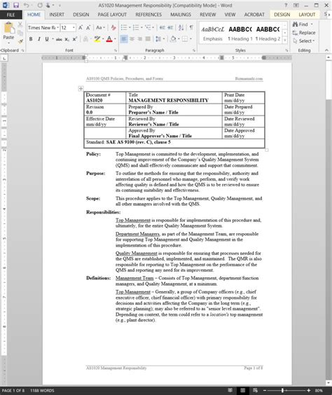 Vendor Management Policy Template Gallery Template Design Ideas Vendor Management Policy Template