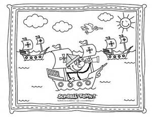 sailing coloring pages print color craft