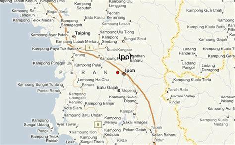 ipoh map  ipoh satellite image