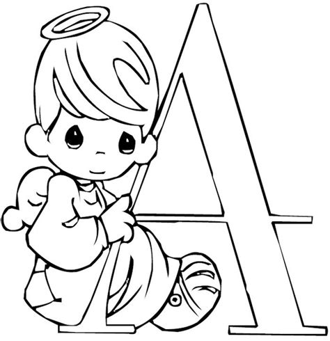 coloring pages precious moments alphabet 95 best precious moments images on pinterest precious