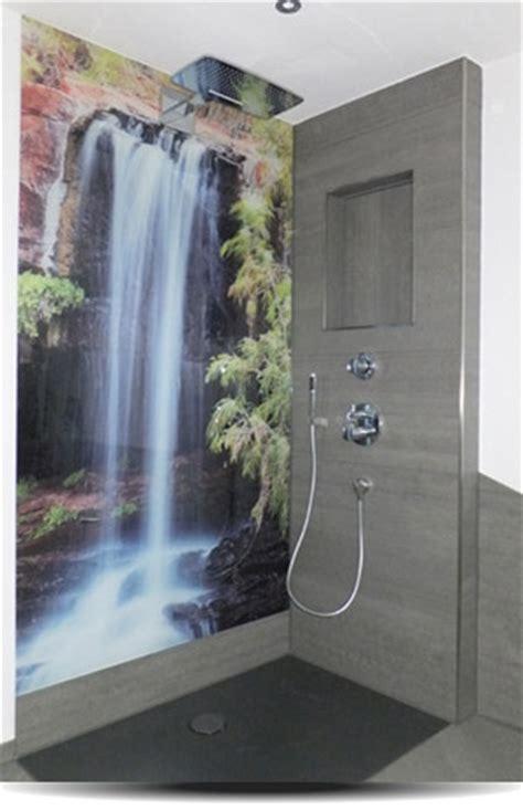 Badezimmer Platten Statt Fliesen Kaufen by Duschr 252 Ckwand Statt Fliesen Jetzt Individuell Gestalten