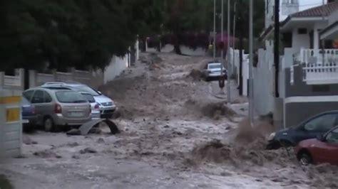 imagenes de fuertes lluvias fuertes lluvias e inundaciones en santa cruz de tenerife