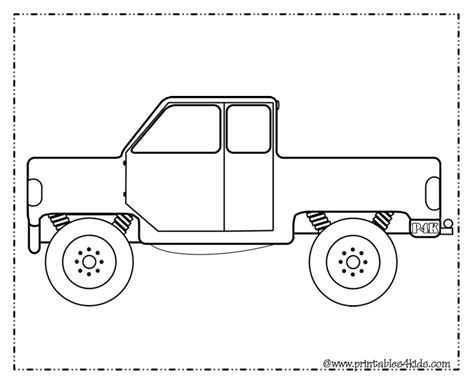 preschool coloring pages trucks truck coloring page for boys printables for kids free
