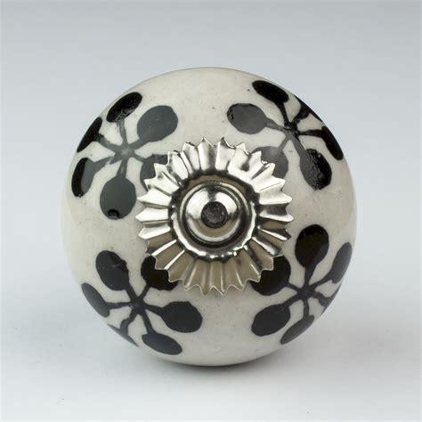 Black And White Door Knobs by Black White Silver Grey Ceramic Door Knobs Handles