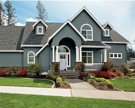 incridible behr exterior paint color combinations with grey and white color by best exterior