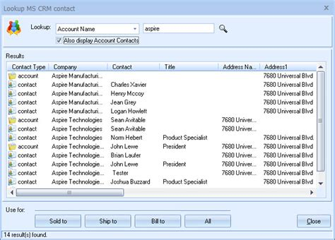 How To Use Phone Number Lookup Quotewerks 174 Microsoft Dynamics Crm Integration Quotes Proposals