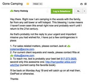 Ooo Mail Template by 7 Refreshingly Unique Out Of Office Emails Recruiters Can