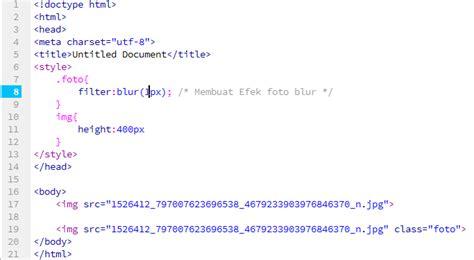 cara membuat web filtering cara membuat efek filter blur pada css3 kursus web design