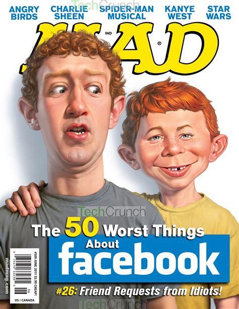 mad magazine what zuck worry mad magazine quot honors quot mark zuckerberg
