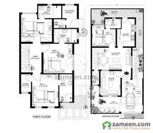Italian Floor Plans by Floorplans Of Royal Residencia Lahore Zameen Com