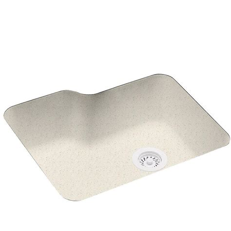 Solid Surface Undermount Sinks undermount solid surface 25 in 0 single bowl kitchen