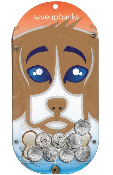 puppy bank puppy bank a wall mountable money bank by saveup banks