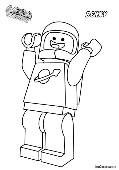 lego movie coloring pages benny coloriage personnage lego le film benny l astronaute 224