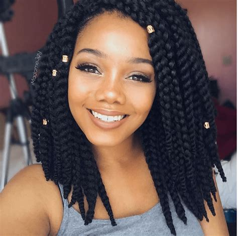 styling short crochet braids beautiful crochet bob braids