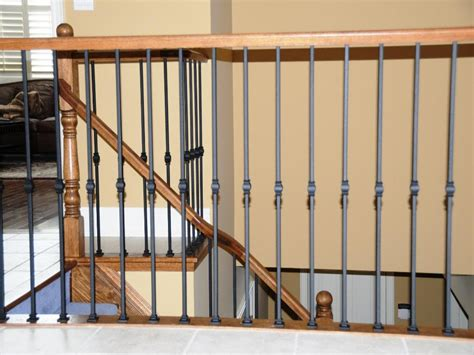 Metal Banister Railing by Types Of Residential Metal Stair Railing Robinson